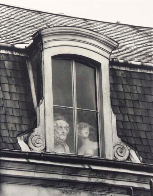 André Kertész     Window, paris     1928